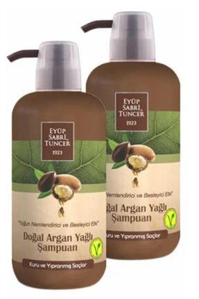 Eyüp Sabri Tuncer Argan Yağlı Şampuan 600 ml 2 Li Set