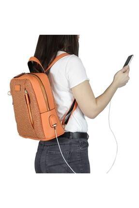 My Valice Smart Bag 1206 Usb Şarj Girişli Kadın Sırt Çantası