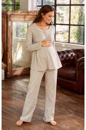 Eros Esk27650 Kadın Lohusa Pijama Takımı
