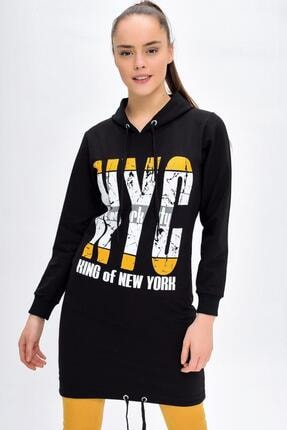 Deppoist Nyc Baskılı Sweatshirt Tunik