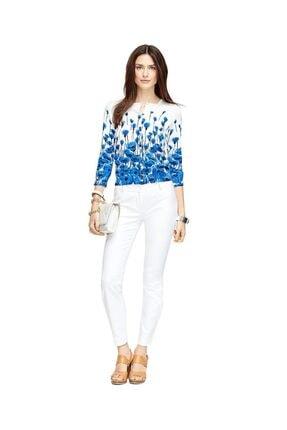 Brooks Brothers Kadın Beyaz Pantolon
