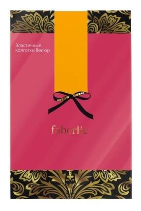 Faberlic Sarı Koyu Renkli Külotlu Çorap L 81505