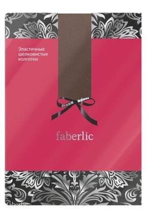 Faberlic Kahverengi Pamuklu Külotlu Çorap Xs 80036