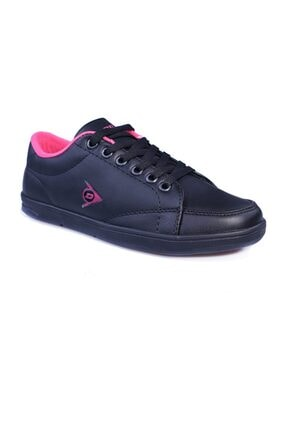 Dunlop 812405.00 Siyah_fusya Sneakers Bayan Spor Ayakkabı