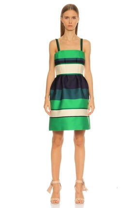 Lanvin Yeşil Elbise