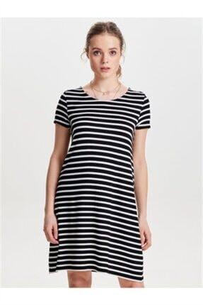 Only Onlbera Back Lace Up S/s Dress Jrs Noos