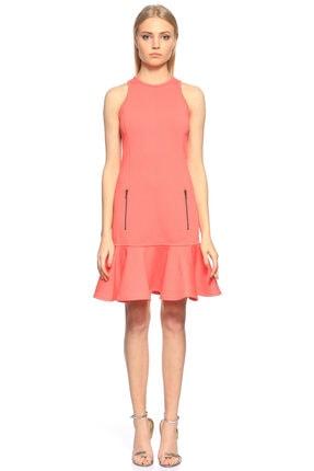 Lanvin Kolsuz Mercan Elbise