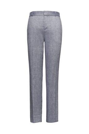 Banana Republic Avery Straight-fit Streç Keten Pamuk Karışımlı Pantolon