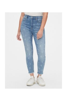 Gap High Rise True Skinny Ankle Jean Pantolon