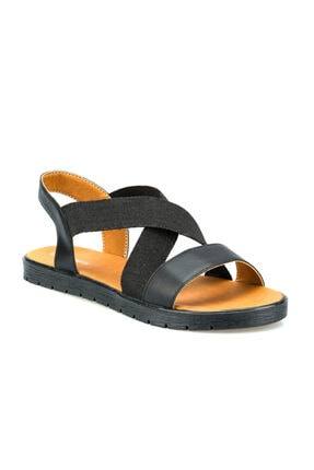 Polaris 315736.Z Siyah Kadın Sandalet 100508448