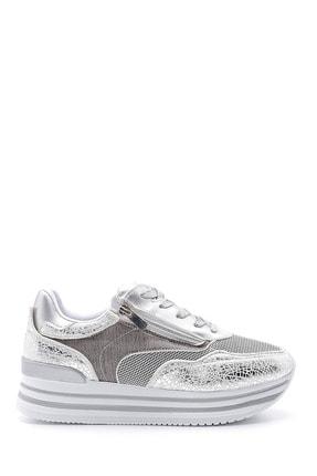 Derimod Kadın Yüksek Taban Fermuar Detaylı Sneaker