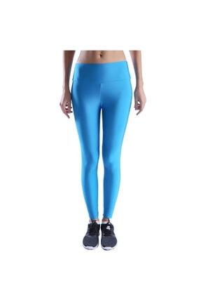 Sportive Shinetight Kadın Mavi Parlak Tayt 710475-sky