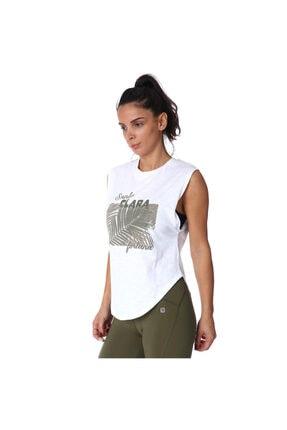 Sportive Santa Clara Kadın Beyaz Tişört 711032-byz