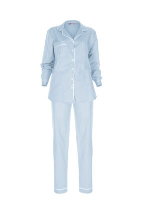 GTNight Keten Biyeli Pijama Takım