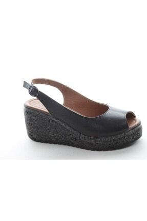 Stella Kadın Topuklu Deri Sandalet 19713