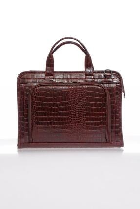 Sergio Giorgianni Luxury Sg071219 Bordo Unisex Evrak Çantası