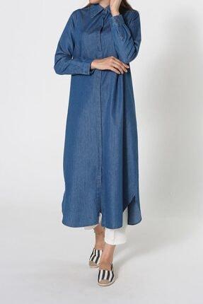 ALLDAY Uzun Denim Gömlek Tunik
