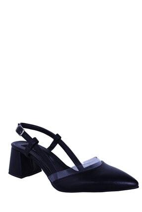 Derigo Siyah Kadın Topuklu Ayakkabı 39226