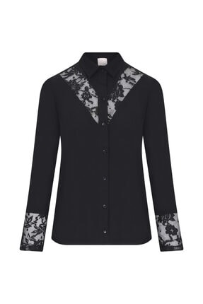 W Collection Siyah Bluz