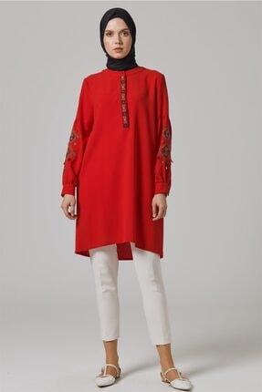 Doque Tunik-kırmızı Do-a9-61032-19