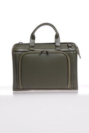 Sergio Giorgianni Luxury Sg071219 Haki Unisex Evrak Çantası