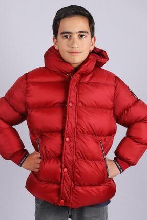 Milan Çocuk Club 2--14 Yaş Erkek Çocuk Mont Kaban Kırmızı Renk