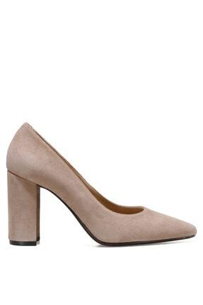 İnci SENARA2 Deri Vizon Kadın Hakiki Deri Topuklu Ayakkabı 101030298