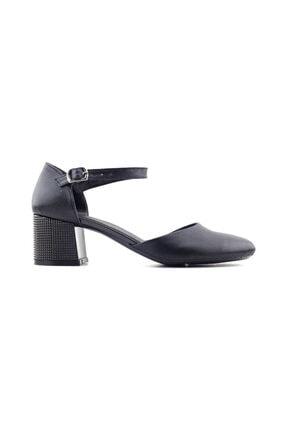 Punto 544805 Kadın Topuklu Ayakkabı-siyah