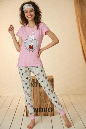 Morpile Baskılı Pijama Takım