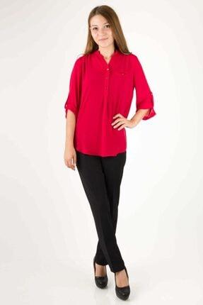 Ayhan 5546 Gömlek-kırmızı
