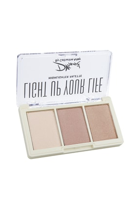 Catherine Arley Dinamik By Light Up Your Life Highlighter Palette No:2