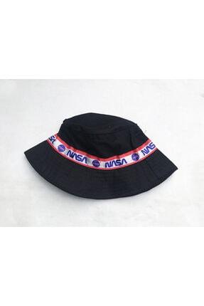 Köstebek Nasa Şeritli Bucket Şapka