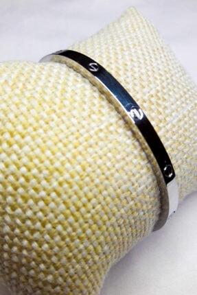 Accessories Paslanmaz Çelik Ince Gümüş Kaplama Cartier Bileklik
