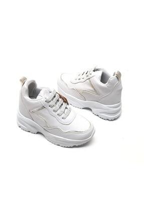 MP Bayan Kalın Topuklu Sneaker