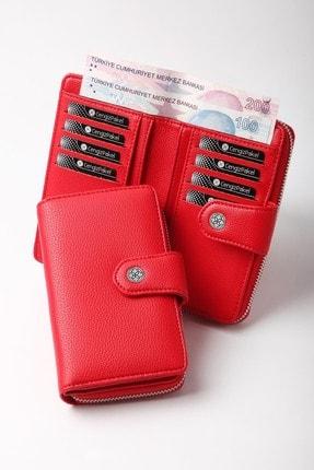 Cengiz Pakel Kırmızı Kadın Cüzdan 65c23p1mt