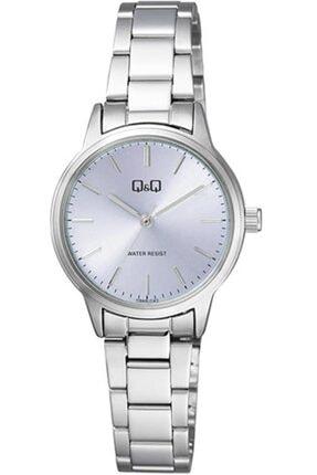 Q&Q Klasik Metal Kordon Bayan Kol Saati 6 Farklı Model Q969 Gri Açık