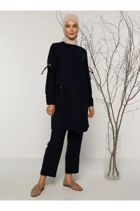 Refka Kadın Lacivert Tunik&pantolon Ikili Takım 1715451