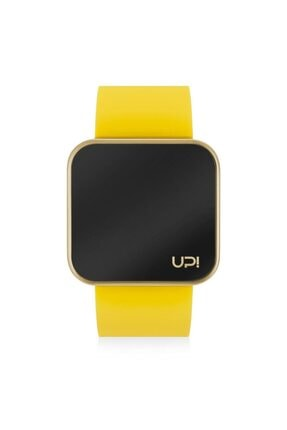 UpWatch Upwatch Touch Matte Gold&yellow Unisex Kol Saati
