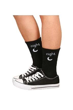 Köstebek Night Unisex Çorap