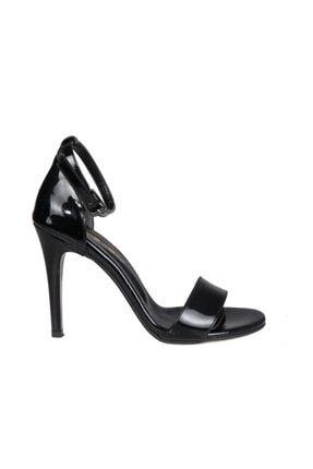 Punto 448028 Siyah Rugan Kadın Stiletto