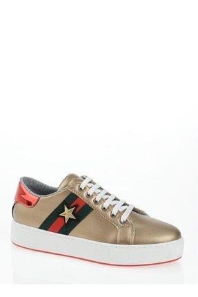 Derigo Altın Yıldız Kadın Casuel Ayakkabı 221701