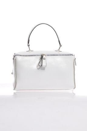 Sergio Giorgianni Luxury Sg211 Beyaz Kadın Omuz Çantası