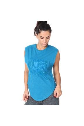 Sportive Santa Clara Kadın Mavi Tişört 711032-ptr