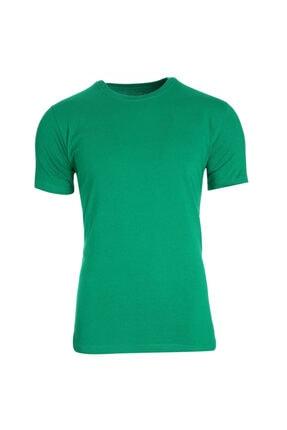 Sportive Unisex Yeşil Tişört Ky1019-ysl