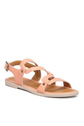 Tergan Pembe Vegan Kadın Sandalet 210143q2q