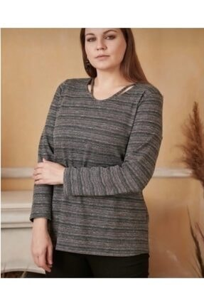 Rmg Kadın Haki Kışlık Bluz