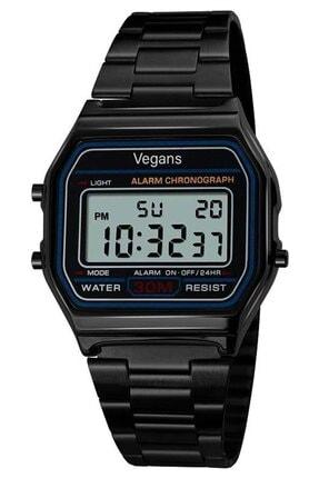 Vegans 1123 Retro Dijital Kol Saati