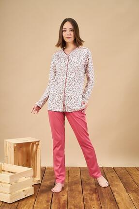 PJS PİJAMA Kshop 21838 Bayan Uzun Kol Pijama Takımı