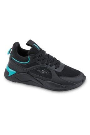 Jump 24770 Siyah - Mavi Unisex Spor Ayakkabı