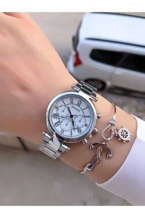 Homies Kadın Gümüş Renk Saati